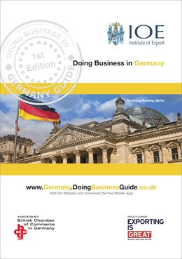 Doing Business in Germany Guide cover